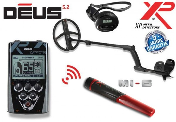 XP Deus X35 28 RC WS4 MI-6