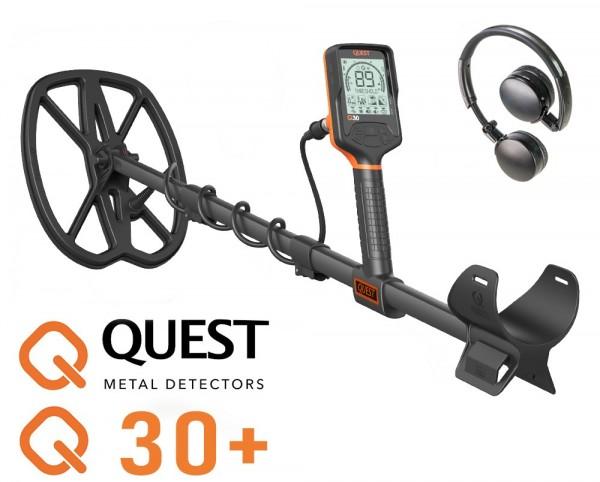 Quest Q30+ mit Funkkopfhörer