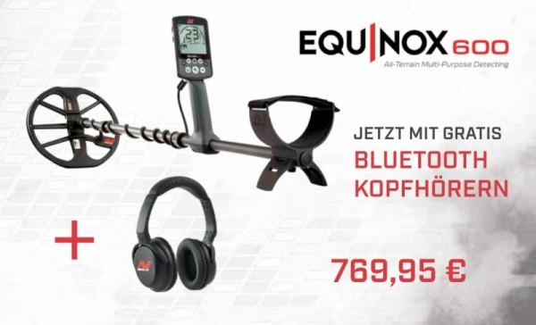 Equinox 600 mit gratis Funkkopfhörer