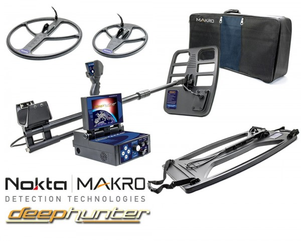 Deephunter Pro Package 3D Metalldetektor
